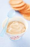 Caramel cream Royalty Free Stock Image