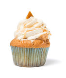 Caramel cup cake Royalty Free Stock Photos
