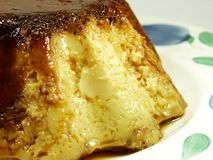 Caramel de crème Image stock