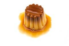 Caramel de crème Photo libre de droits