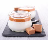 Caramel dessert Royalty Free Stock Photos