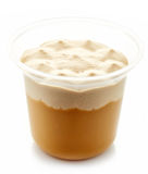 Caramel dessert Royalty Free Stock Images