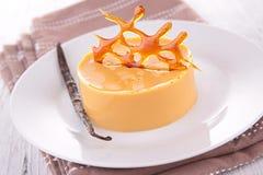 Caramel dessert Royalty Free Stock Images