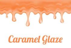 Caramel glaze Royalty Free Stock Photography