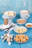 Caramel heaps Royalty Free Stock Photos