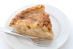 Caramel Pecan Apple Pie Stock Image