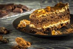 Caramel pie Stock Photos