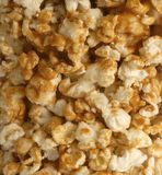 Caramel popcorn Royalty Free Stock Photo