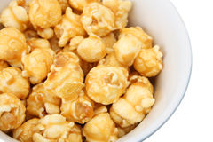 Caramel popcorn Stock Photos