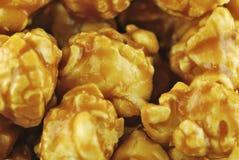 Caramel popcorn Stock Photos