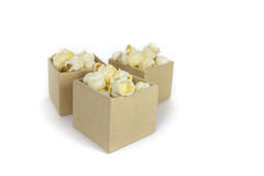 Caramel popcorn Stock Image
