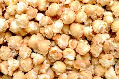 Caramel popcorn and peanut Stock Photography