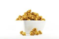 Caramel popcorn Stock Photography