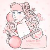 Caramel princess Stock Photography