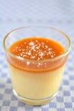 Caramel Pudding Stock Images