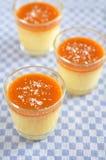 Caramel Pudding Royalty Free Stock Photos