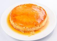 Caramel Pudding II Stock Images