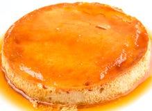 Caramel Pudding IV Stock Images