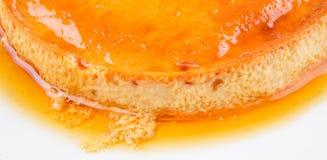 Caramel Pudding VI Stock Photos