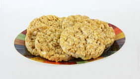 Caramel Rice Cakes Stock Photography