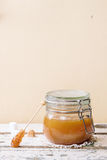 Caramel sauce Royalty Free Stock Photo