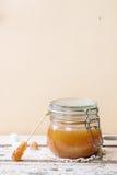 Caramel sauce Royalty Free Stock Photo