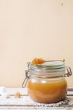 Caramel sauce Royalty Free Stock Photography