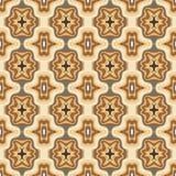 Caramel seamless pattern Stock Image