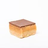 Caramel Shortbread stock photos
