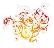 Caramel splash Royalty Free Stock Image