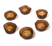 Caramel sweets with sunflower seeds Royalty Free Stock Photo