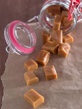 Caramel sweets Royalty Free Stock Photography
