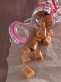 Caramel sweets Royalty Free Stock Photo