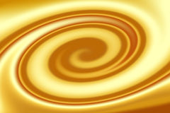 Caramel swirl Royalty Free Stock Images