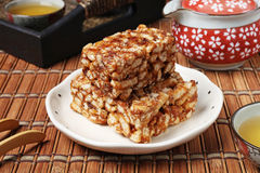 Caramel treats (Sachima) Royalty Free Stock Image