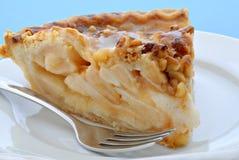 Caramel Walnut Pie Stock Photography