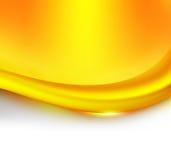 Caramel wave Stock Photo
