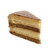 Caramelcake Arkivfoton