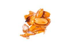 Caramelised pili nuts Stock Image