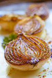 Caramelized balsamic onions Stock Photos