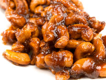 Caramelized cashew Stock Images