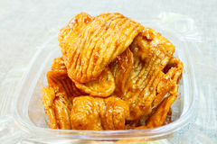 Caramelized crisps. Stock Photos