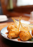 Caramelized fruits, chinese dessert Royalty Free Stock Photo