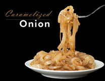 Caramelized onion Stock Images