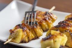 Caramelized Pineapple stock photo