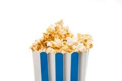 Caramelized popcorn isolated Stock Image