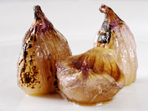 Caramelized shallots Stock Images