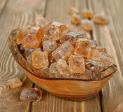 Caramelized sugar Stock Image