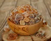 Caramelized sugar in a bowl Royalty Free Stock Photo