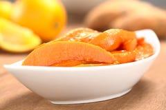 Caramelized Sweet Potato Wedges Royalty Free Stock Images